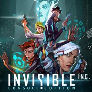 Invisible, Inc, strategy games for iPhone