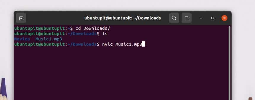 MP3 by command line directory