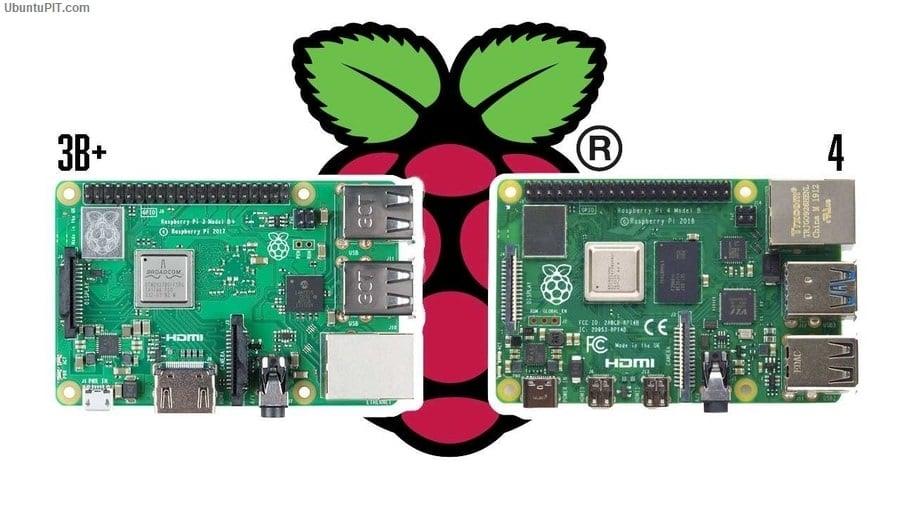 Raspberry Pi 4 vs 3B+