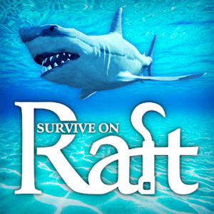 Survival on Raft, survival games for Android