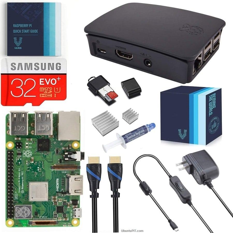 V-Kits Raspberry Pi 3 Model B+ Complete Starter Kit