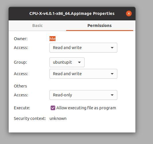 appimage permission snap flatpak