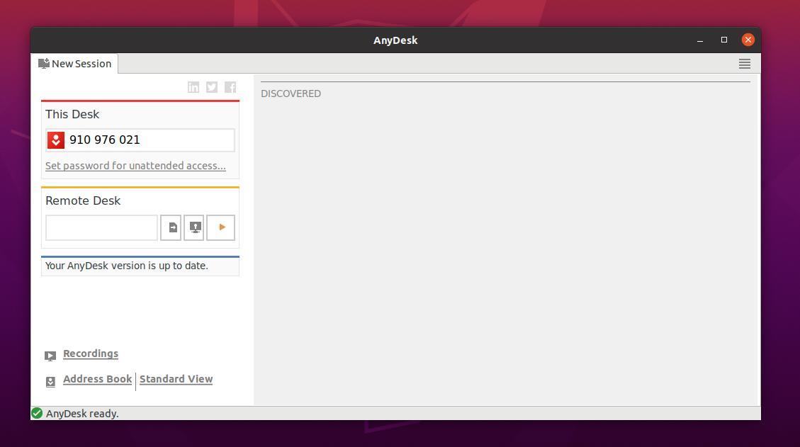 open this desk on ubuntu
