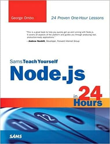 18. Sam teach yourself Node.js in 24 hours