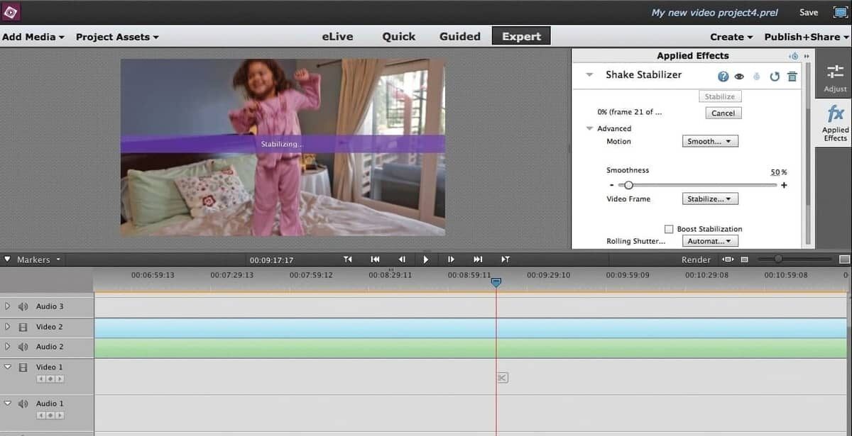 Adobe Premiere Elements editing app for beginners