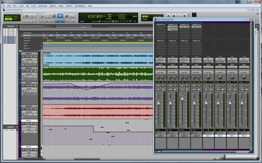 Avid Pro Tools - music making software for windows