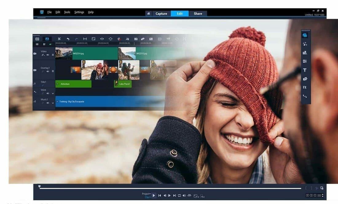 Corel VideoStudio Pro video editing software for windows
