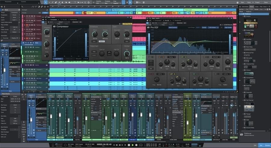 Music Making software for windows - PreSonus Studio One