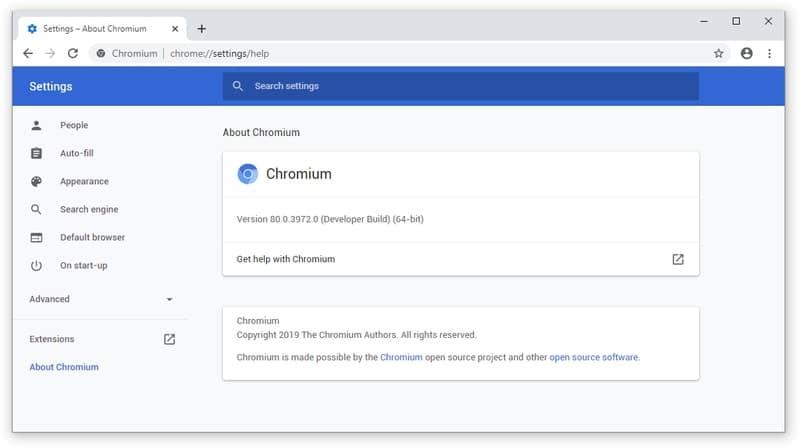 chromium - browser for windows