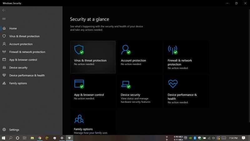 microsoft_defender - antivirus for windows