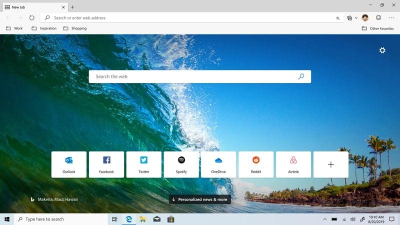 microsoft_edge - browser for windows