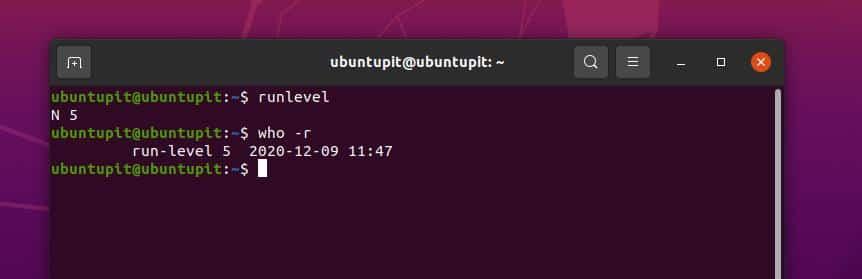 runlevel in Linux