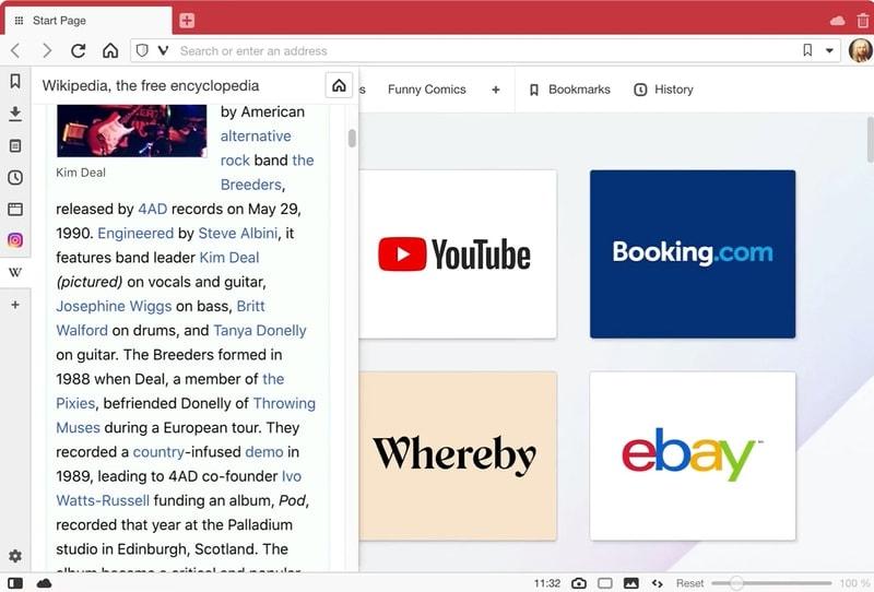 vivaldi - browser for windows