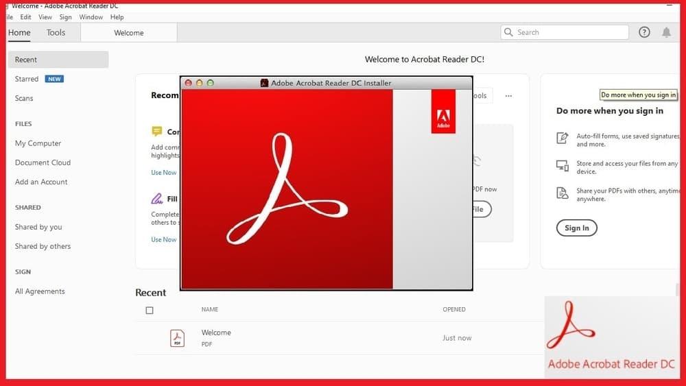 Adobe Acrobat DC pdf scanner for windows