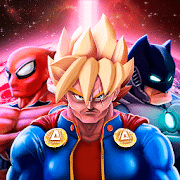Superheroes League - Free fighting games, Batman games for Android