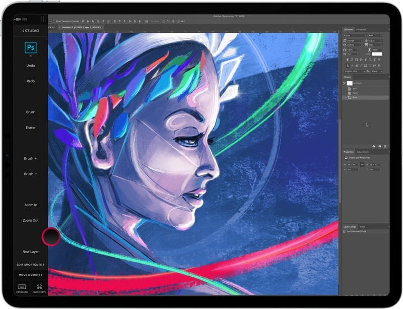 astropad_standard - drawing apps for iPad