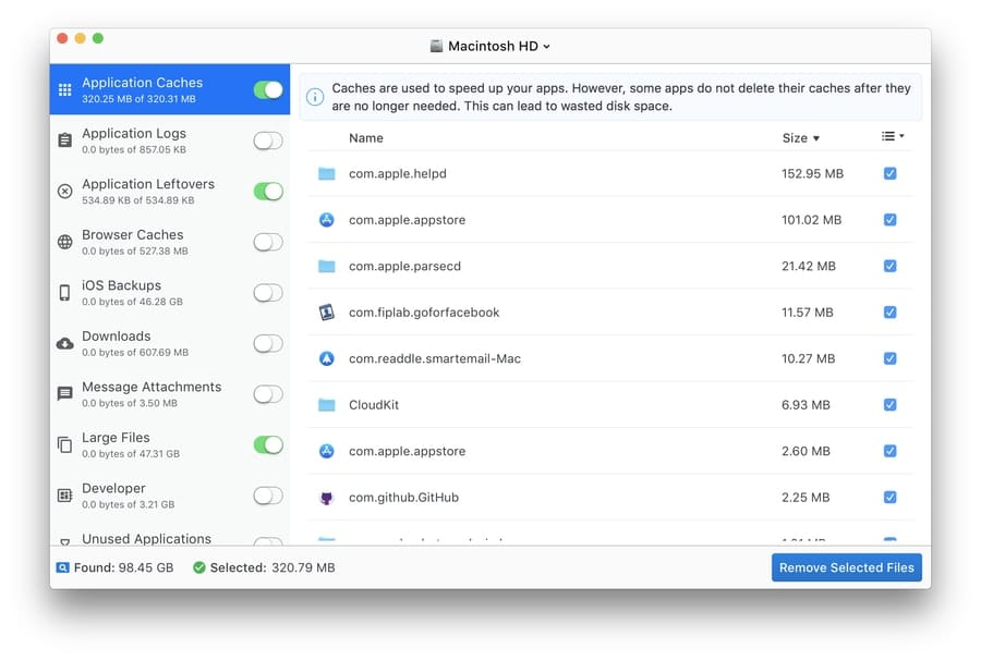 disk_doctor - best apps to clean Mac