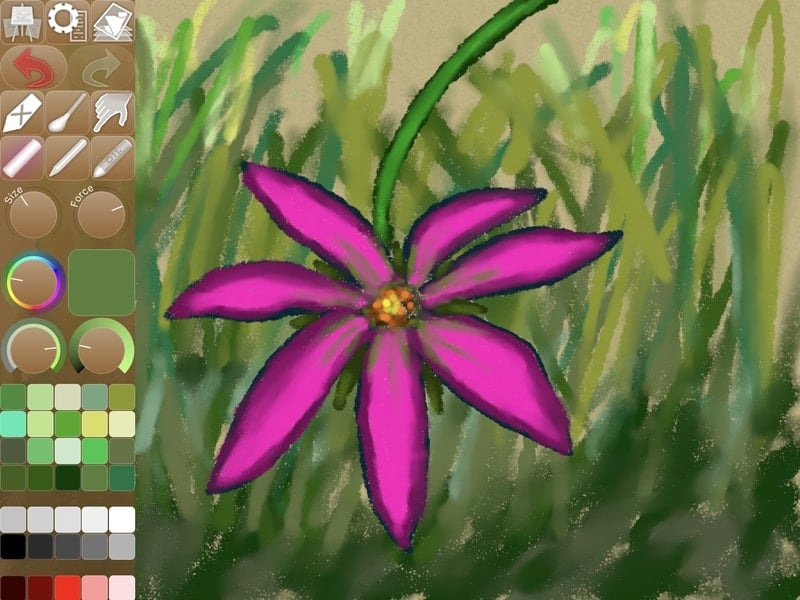 ipastels - drawing apps for iPad