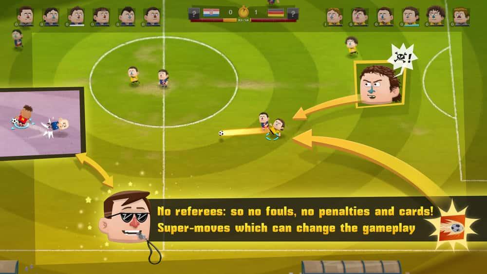 KOPANITO ALL-STARS football game for PC