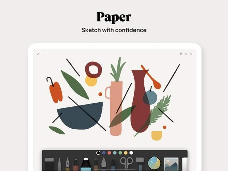 paper_by_wetransfer - drawing apps for iPad