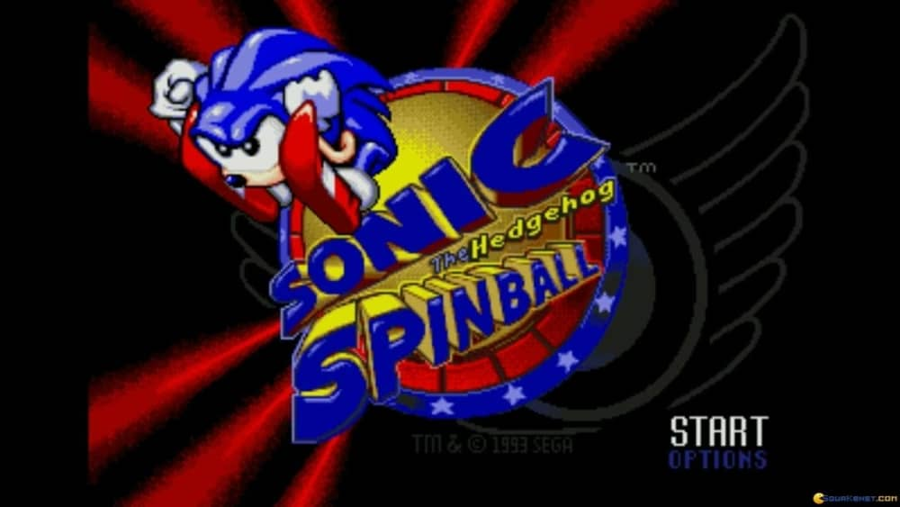 Sonic Spinball pinball games for PC