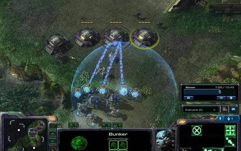 StarCraft II: Wings of Liberty free strategy game for PC