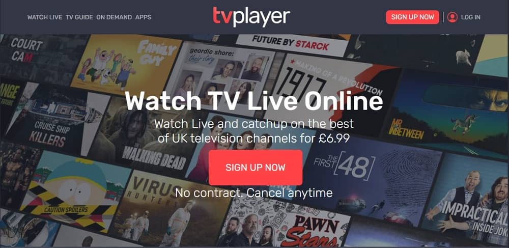 Free TV Player for PC