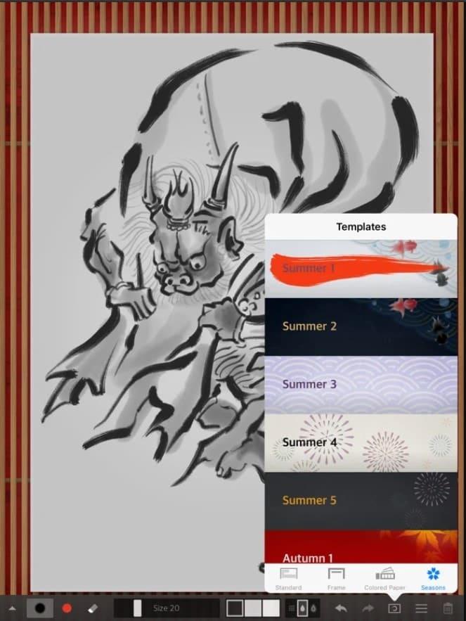 zen_brush_2 - drawing apps for iPad