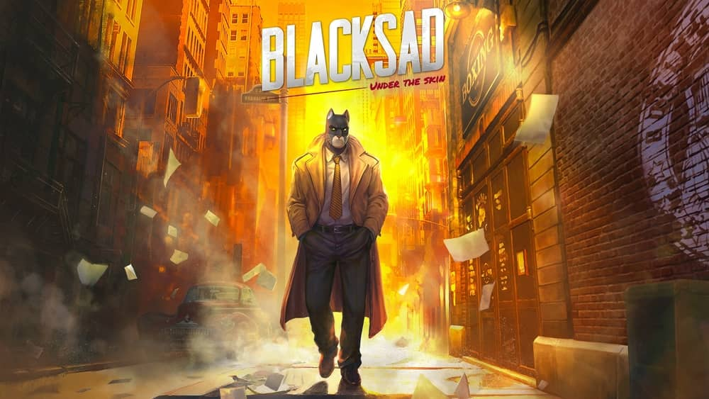 Blacksad Under The Skin cat games for PC