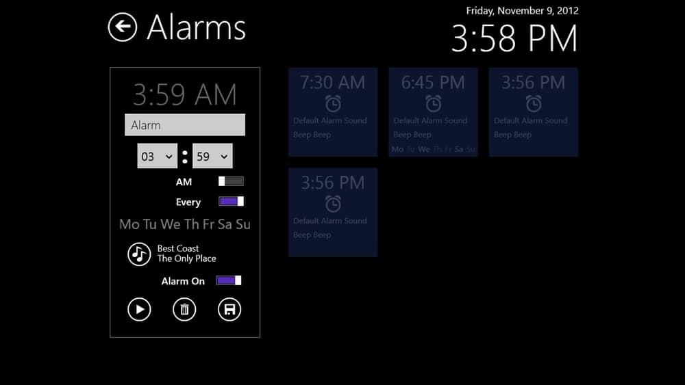 Music Alarm Clock for PC
