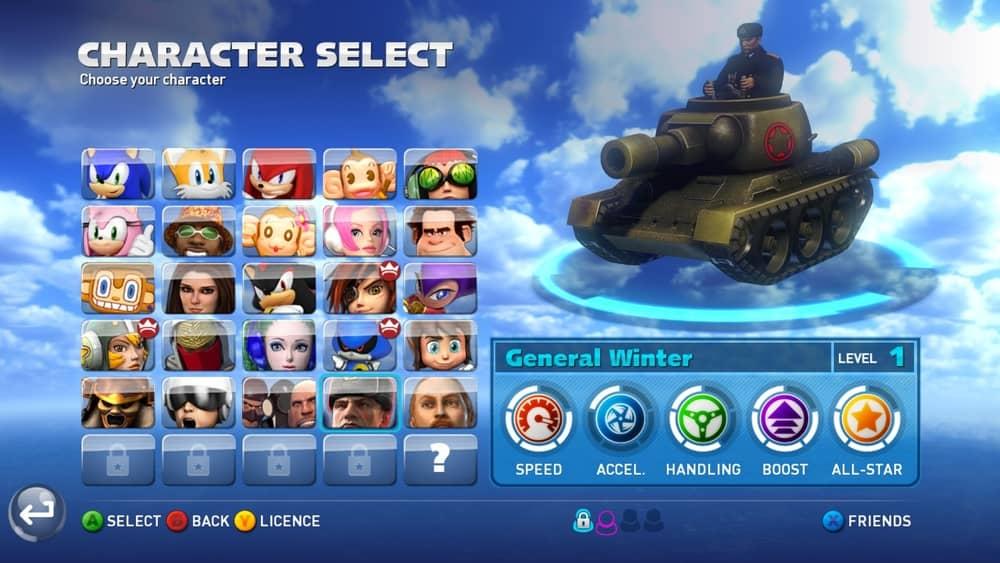 Sonic & All-Stars Racing Transformed™