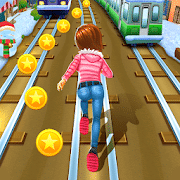 Subway Princess Runner, Running games for Android