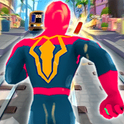 Super Heroes Run: Subway Runner, Running games for Android