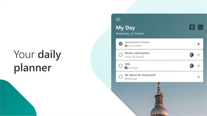 Microsoft To-Do reminder apps for Windows
