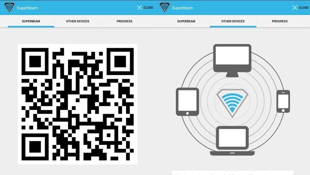 Superbeam 5 File Transfer Apps for PC