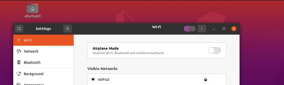 turn of wifi on ubuntu