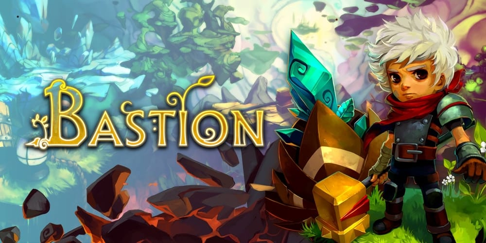 Bastion, best games for iPad