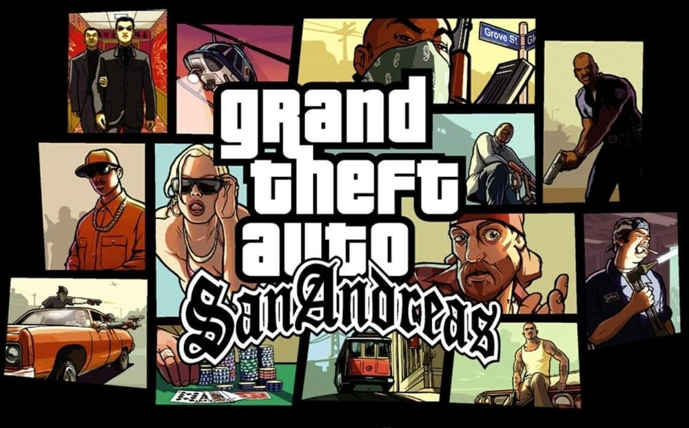 Grand Theft Auto: San Andreas, best games for iPad