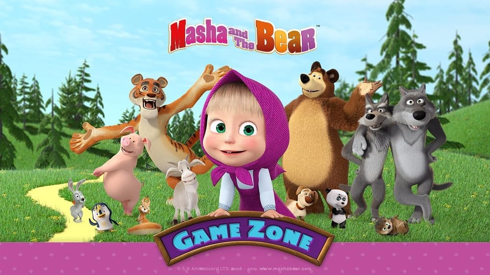 Masha and the Bear Games, best games for Mac