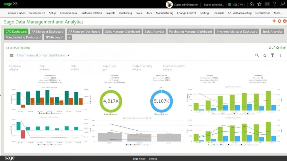 Sage Business Cloud X3