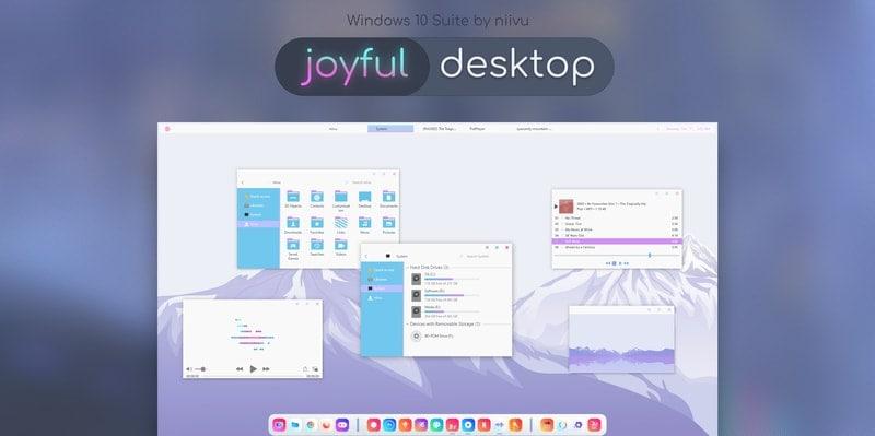 joyful_desktop - windows skins
