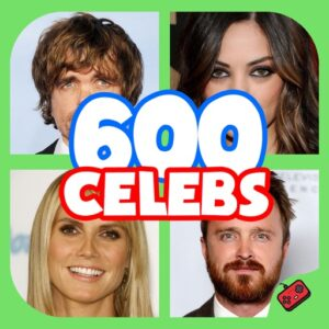 600 Celebs - Celebrity Guess Quiz‬