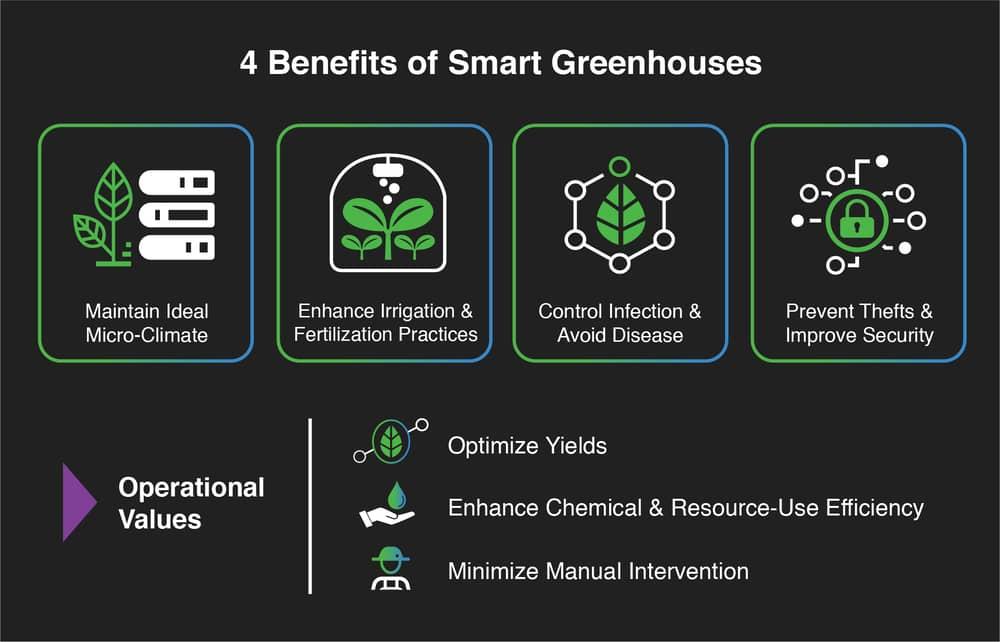 Benefits of Smart Greenhouse