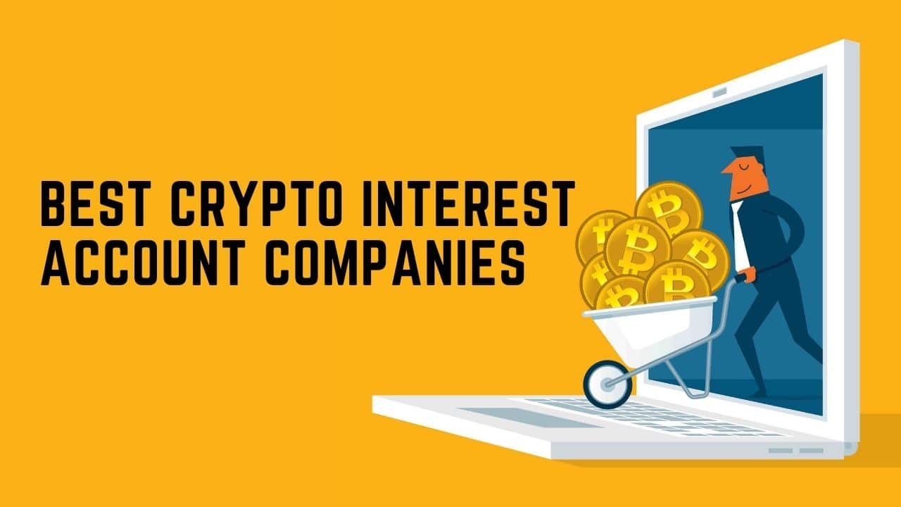 Best Crypto Interest Account Companies in 2021