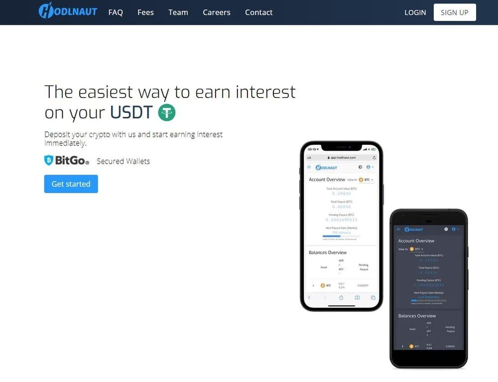 Hodlnaut Crypto Interest Account