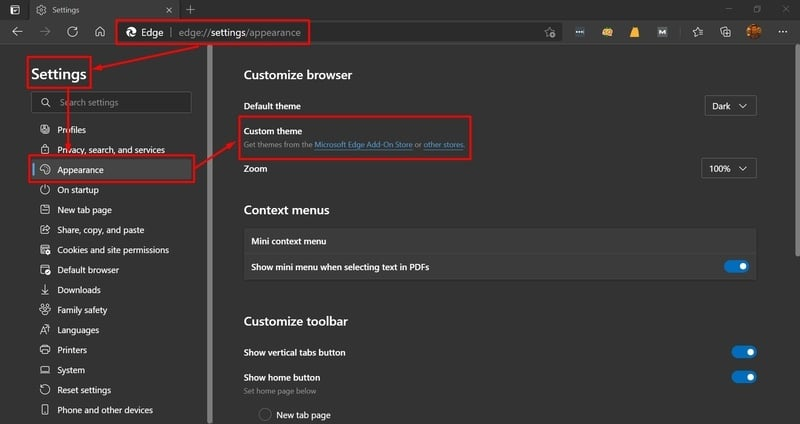 edge_settings_page
