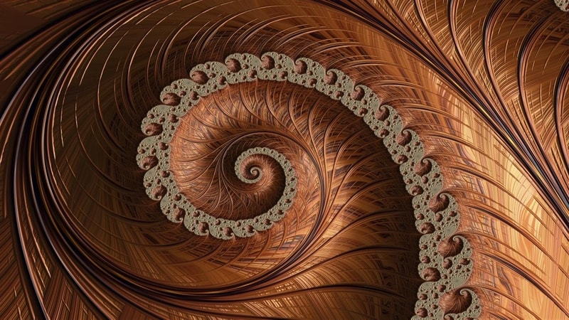 spiraling_fractals_premium - Windows wallpaper themes