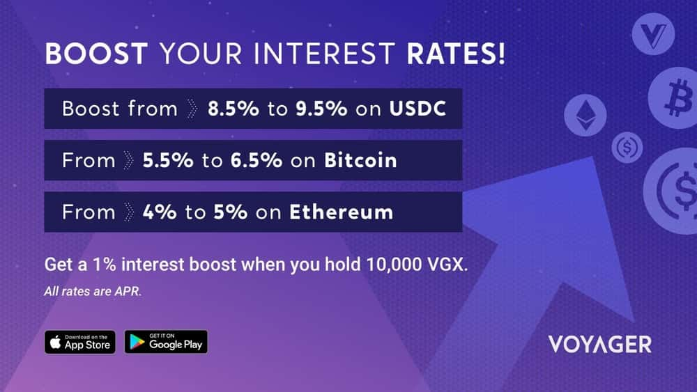 voyager crypto interest account