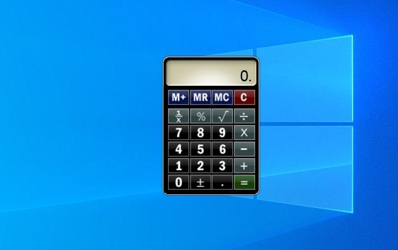 Calculator - widget for Windows