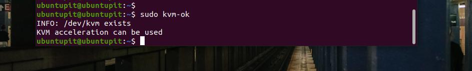 KVM OK on Ubuntu